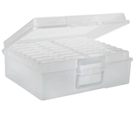 photo storage box iris 174 photo box 16 cases
