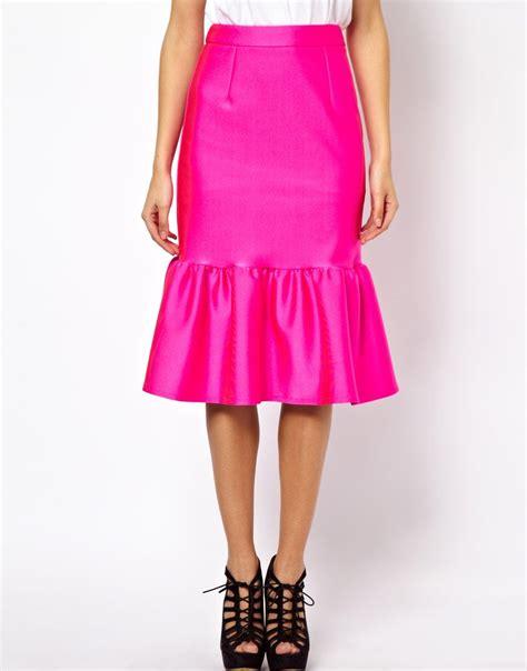 Skirt Peplum peplum skirt hallie daily
