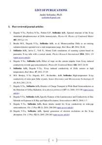 sample cv publications citation format example good resume template