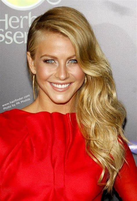 curly hairstyles pinned to the side love this look long wavy hair pulled to one side