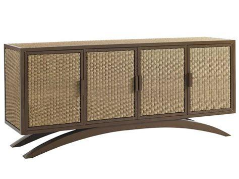outdoor wicker console table tommy bahama outdoor aviano wicker 70 x 18 rectangular