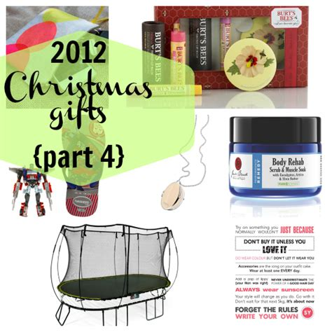 my fave 2012 christmas gifts week 4