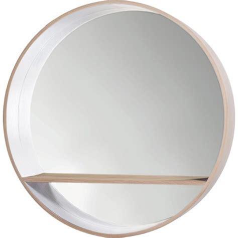 Miroir Rond 373 by Miroir Console De Drugeot Manufacture 216 125 Blanc