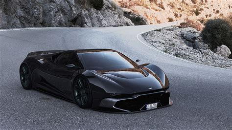 aston martin supercar concept if aston martin ever built a mid engined hypercar this