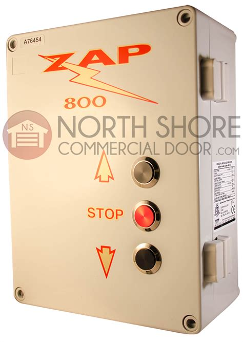 Zap Garage Door Opener Zap Garage Door Opener 800 3 Pb Series 3 Controller