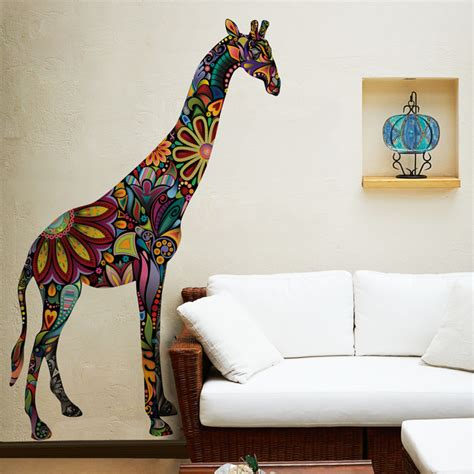 wall stickers giraffe giraffe wall sticker contemporary wall decals other metro by my wonderful walls