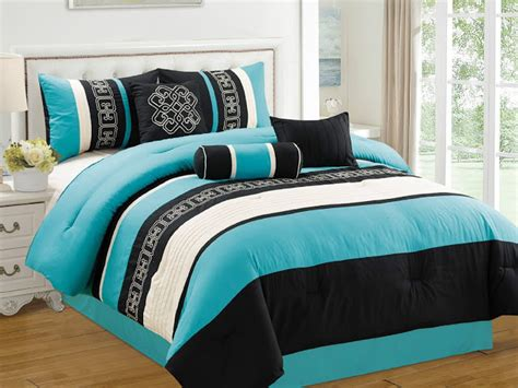 turquoise and black bedding black white and turquoise bedding sets