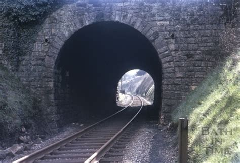 the tunnel through time a new route for an journey books looking through the tunnel towards midford station 1966 by