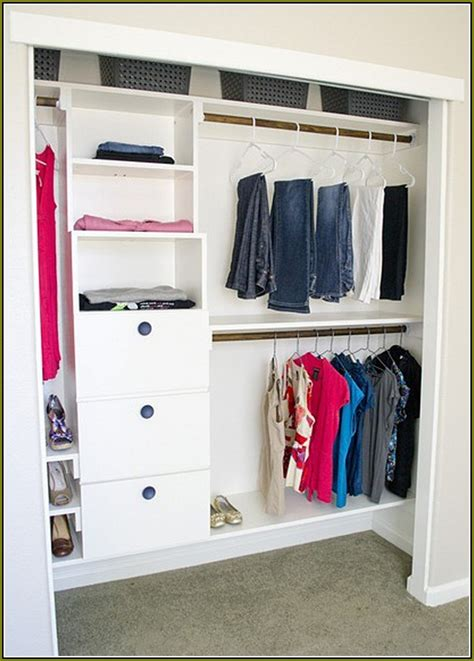 Diy Wood Closet Organizer by White Wood Closet Organizers Home Design Ideas