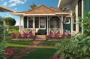 hawaiian style homes hawaiian plantation style home plan
