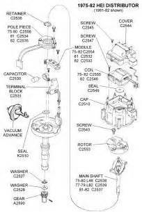 gm hei distributor and coil wiring diagram - Yahoo Image