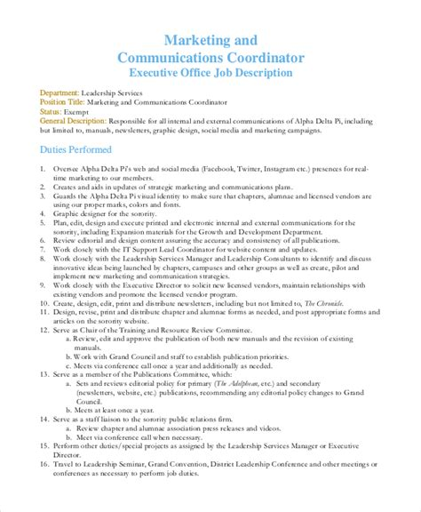 Cover Letter Sle Communications Manager by Publicity Assistant Sle Resume Publicity Assistant Sle