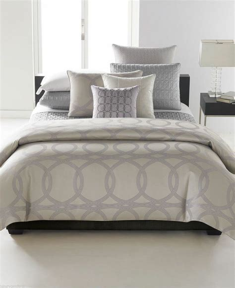 Hotel Collection Comforter Cover by Hotel Collection Calligraphy Comforter Duvet Cover Gray