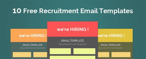 Recruiting Email Templates