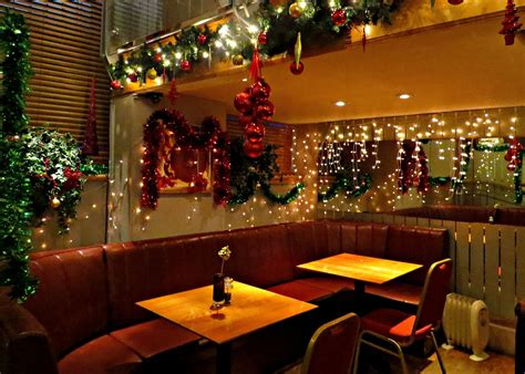 restaurant christmas decorations 5pm food dining blog