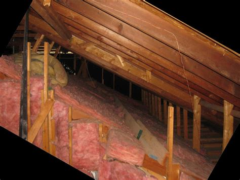 attic ceiling insulation poorly insulated attic w vaulted ceiling insulation diy pundaluoyatmv