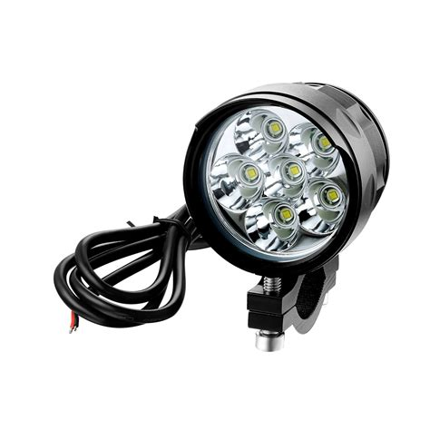 universal led lights universal motorcycle headlight 6000lm cree led handlebar