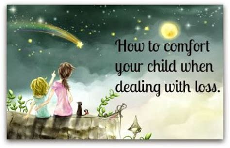 How To Comfort Your Child When Dealing With Loss