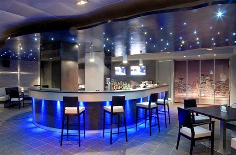 coffee shop lighting design modern coffee shop interior design with blue lighting