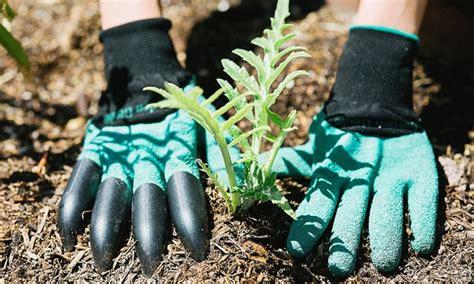 Genie Garden Gloves 60 on garden genie gardening gloves groupon goods
