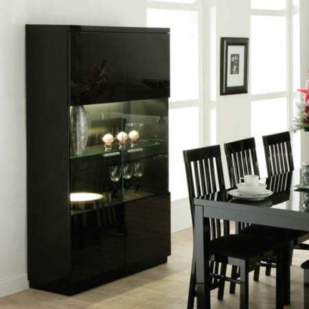 dazzling white kitchen cabinets for sale snazzy product dazzle high gloss black 2 door display cabinet