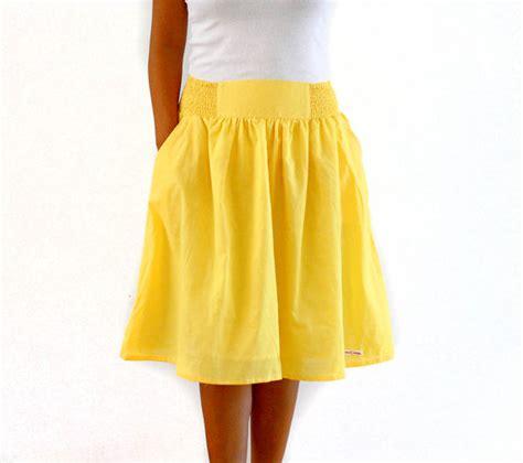 midi skirt in yellow bridesmaid skirt