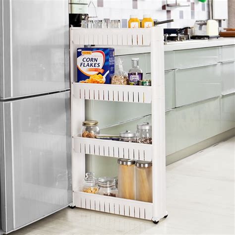 kitchen storage tower sobuy kitchen storage cupboard slide out storage tower 4