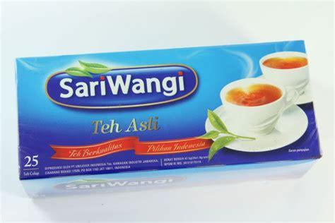 Teh Celup Sariwangi Sachet menguak eksistensi teh sariwangi teh asal indonesia
