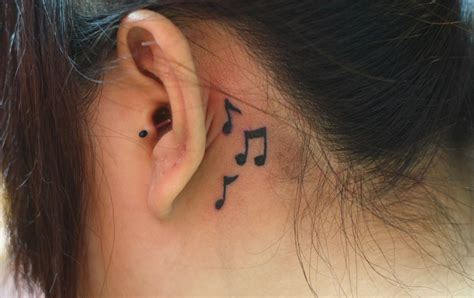 small tattoo ideas behind ear best tattoo 2014 designs