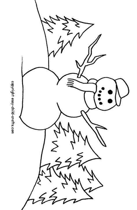 little snowman coloring page printable snowman coloring home