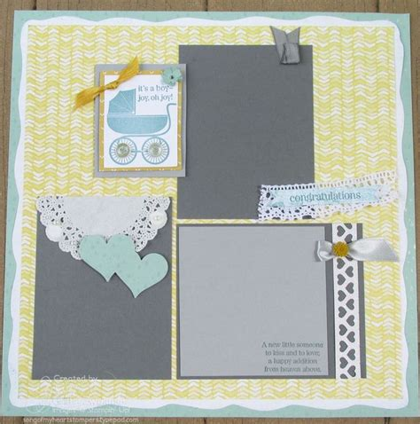 Baby Shower Scrapbook Pages by 81 Best Scrapbooking Baby Shower Images On