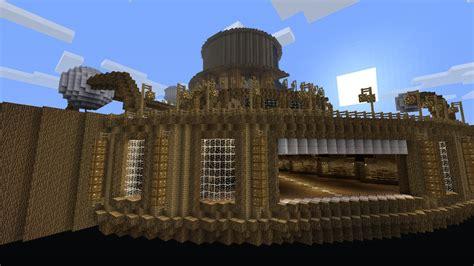 floating base city minecraft project