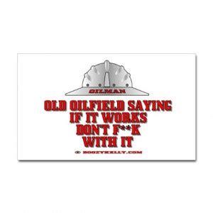Taft Oilfield Stickers