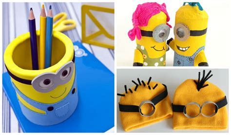 minion diy crafts 20 adorable diy minions craft ideas minion birthday