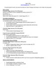 Curriculum Vitae Clinical Psychology by A Resume Should Be