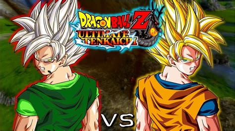 imagenes de goku y zaiko dbz ultimate tenkaichi zaiko xicor vs goku youtube