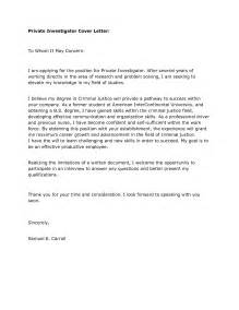 enforcement resume sles investigator cover letter resume for board of