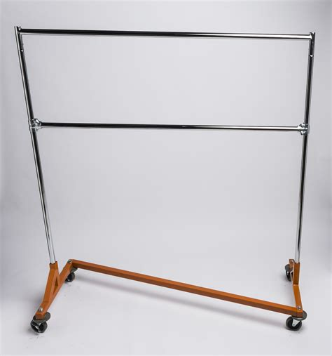 A Rack Of by Z Rack With A Heavy Duty Orange Base A B Store Fixtures