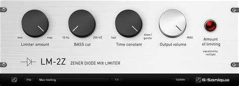 zener diode limiter kvr lm 2z zener diode mix limiter by g sonique limiter vst plugin