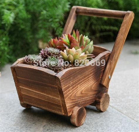 Wooden Garden Planters Ideas by 20 Amazing Ideas Of Wooden Mini Garden Planters That You
