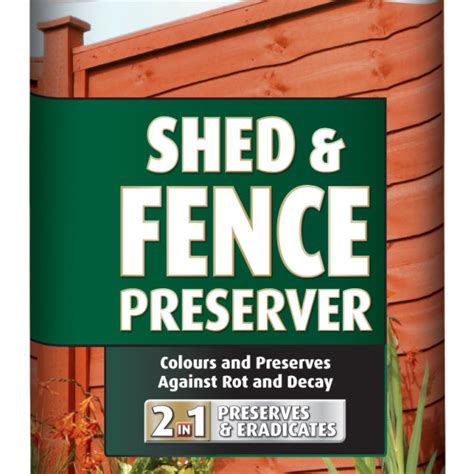 Ronseal Shed And Fence Preserver by Ronseal Shed Fence Preserver 5l Bingley Fencing