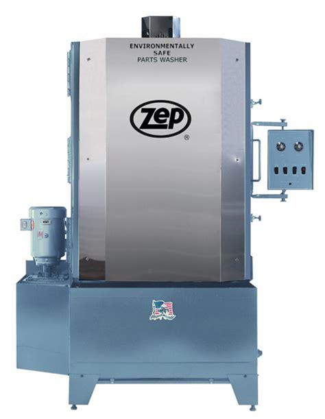 spray cabinet parts washer zep equipment