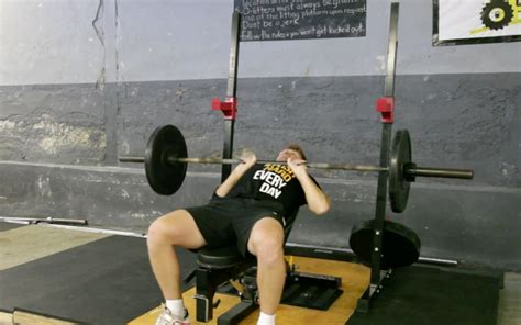 bench press narrow grip exercise database push train with purpose