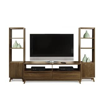 tv stand and bookcase copeland furniture tv stand and bookcases