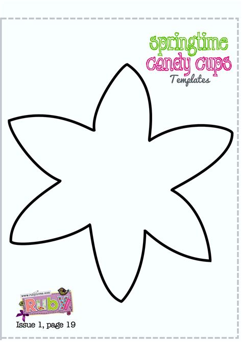 templates to print free printable daffodil template template update234
