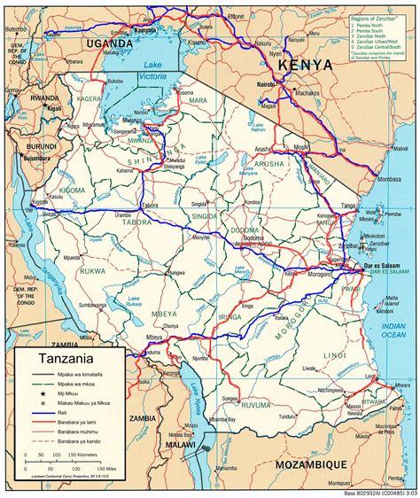 map ya africa picha tanzania reli barabara jpg kamusi elezo