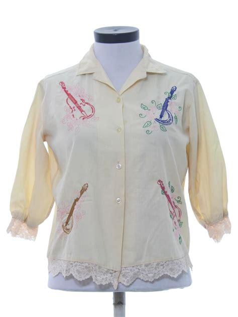 Csiro Wearable Instrument Shirt by Wash N Wear Sixties Vintage Hippie Shirt 60s Wash N Wear