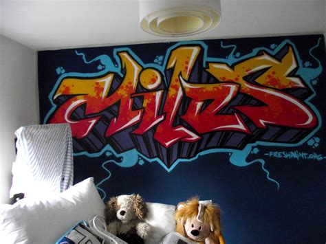 graffiti wallpaper for bedrooms kids graffiti bedrooms fresh paint