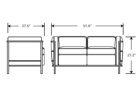 loveseat measurements standard loveseat dimensions typic batar