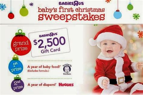 Baby Sweepstakes 2014 - babies r us baby s first christmas sweepstakes 2014 sweepstakesbible